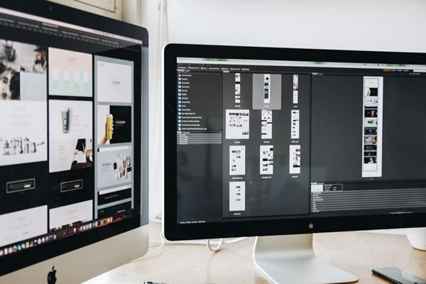 Mobile optimising a website design